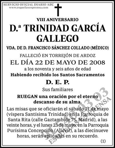 Trinidad García Gallego